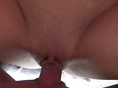 Teenage slut didnt wait to acquire such a huge cock!