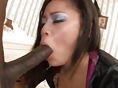 Youthfull Blasian Chick Get Her Ass Banged