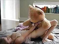 first orgasm on strapon teddy a gift from parent