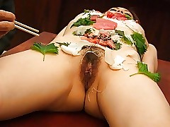 Asian babe is romped like a salad