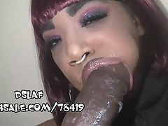 Impressive Saliva Producing Mouth For Sloppy Head- DSLAF