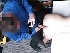 Tight thief gets fucked by 2 LP officer