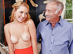 Cool Raylin Ann Sucks and Romps Old Men