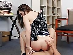 Teenie Bambi Brooks fucked by older man