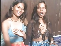 Horny Young Indian College Teenage Performing Lesbian Action
