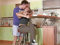 Russian Babe Jessy ditches her homework for Balls Deep Fuck