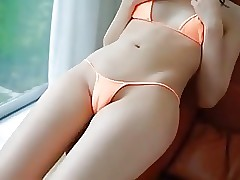 Stunning japanese girl Massage