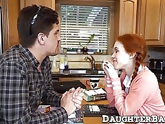 Redhead teen Dolly Lil' pussy ravaged the right way