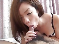 Japanese girl suck
