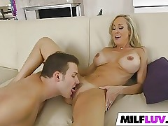 Peeking at stunning Mummy Brandi Love