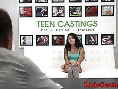 Casting babe banged doggystyle