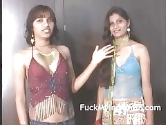 Indian XXX Films College Lesbo Girls Gobbling Sucking Tits