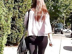 Candid leggings in pinkish top