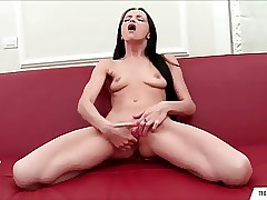 Petite Teen Hard Fingering Orgasm