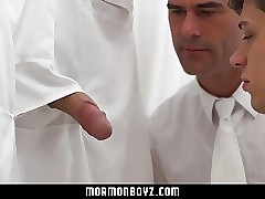 MormonBoyz-Young guy cracked by a trusted leader