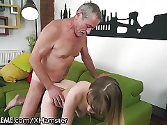 21Sextreme Grandpa Sticks in In Little Towheaded Teenage