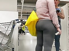 Dual Phat ass white girl Bubble Booties
