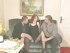 STP5 Ginger Teen Gets Watched Having Her First Threesome !