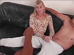 STP5 Sweet Wife Eased In Gently Gives A Stunning Hand job !