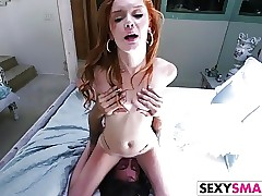 Petite Redhead Stepsister Alex Tanner Gets Nailed