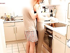 First Video - My Girlfriend have Joy in the Kitchen