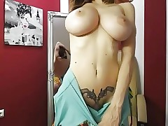 Big breasts solo webcam