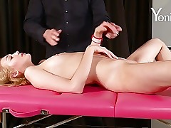 Yonitale Study: Anal investigate with tall young blonde Barbara Y