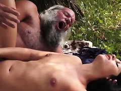 Teenage fucked by old guy