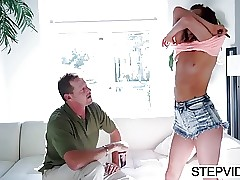 Alaina Dawson gets fucked by step-father