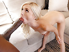 Petite Piper Perri Takes BBC Doggystyle