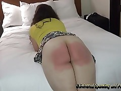 Her Painful Strapping - (Spanking)