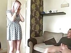 STP7 Stepdad Caught Wanking Gets A Bonus !