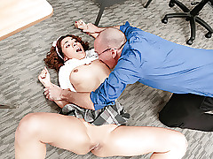 InnocentHigh - Super-fucking-hot Cheating Schoolgirl Punished
