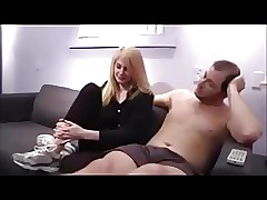 Young hot stepdaughter Allie will do anything for allowance