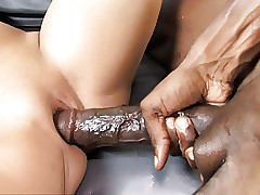 Daddy Watches Sammie Spades Gets Boinked By A Big black cock