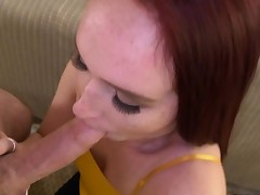 Sexy stepdauther Alice Coxxx bangs with horny dad