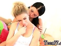 Teen milky jeans first time Girlcompeers toying each other