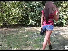 ravaging Her in a Public Park