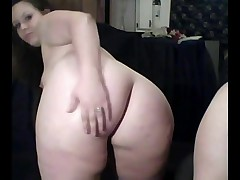Horny Slut Phat Chubby Teens demonstrating ass and tits on cam-4