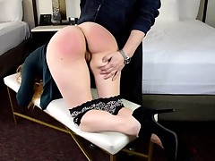 Harley's Predicament Spanking part 2