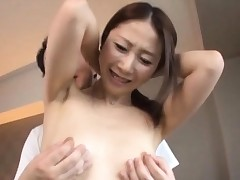 Nymph gets her hairless vagina examinated and drilled