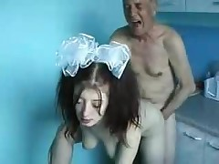 Elder Man And Young Girl