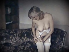 LONELY HEART - vintage saggy tits wooly pussy beauty
