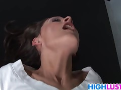 Schholgirl Erin Stone is horny as fuck
