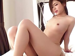 Asian gets a Welcome Creampie
