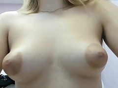 Teenager big puffy nipples small tits boobs