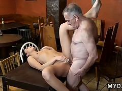 Elderly man fucks first time Can you trust your gf leaving