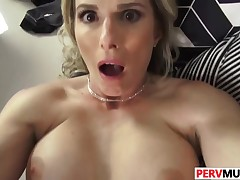Stepson Bangs His Passionate Stepma Cory Chase
