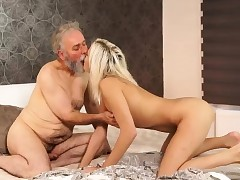 Two hot milf and fortunate guy Ria fell down from clouds