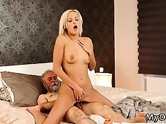Aged boy cum swallow Surprise your girlcompeer and she